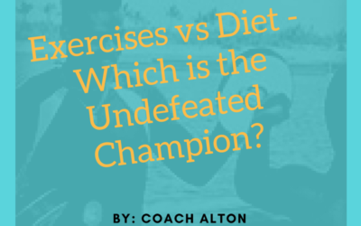 Exercises vs Diet – Which is the Undefeated Champion?